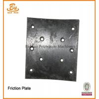 China Baoji High Quality API-7K Certification Friction Plate For Pneumatic Clutch on sale