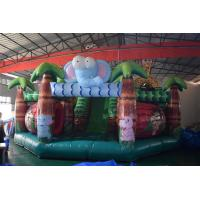 Buy cheap Forest inflatable animals fun city giraffe inflatable fun amusement park from wholesalers