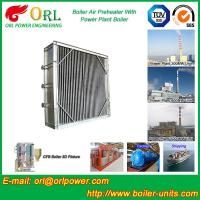 Wholesale High Temperature Solid Fuel Boiler Steam Air Preheater In Cement Plant from china suppliers