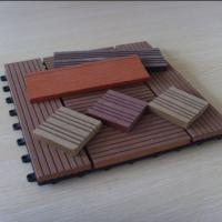 Wholesale Anti - skid WPC Deck Tiles For Patio , House , Building Wall Decoration from china suppliers