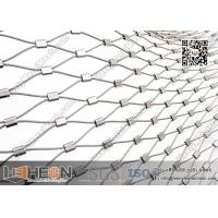Wholesale SS316L Ferrule Stainless Steel Wire Rope Mesh | China Decorative Wire Mesh from china suppliers