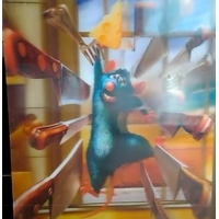 Wholesale Large size 3D Lenticular Printing poster with 3d flip morphing zooming animation effect from china suppliers