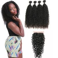 Wholesale 18 Inch 4 Bundles Of Malaysian Virgin Hair Extensions No Tangle Customized Density from china suppliers