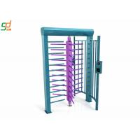 Wholesale RFID Full Height Turnstiles / Data Entry Gate Automatic Security Barriers from china suppliers
