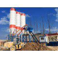 China Heavy Weight Ready Mix Concrete Machine , Precise Metering Wet Batch Concrete Plant on sale