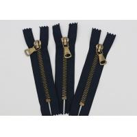 Wholesale Antique Brass Normal Teeth Fire Retardant Zippers 9 Inch Cotton Yarn Black Tape from china suppliers