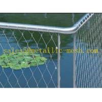 Wholesale Stainless steel rope mesh Balustrade/ Floor Balustrade from china suppliers