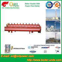 Quality Electrical Water Boiler Header Manifolds High Pressure , Heating Manifold for sale