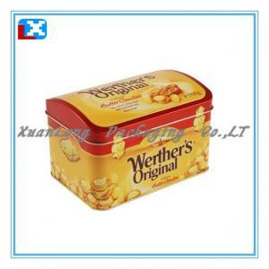Wholesale food grade rectangular sugar tin box /XL-1023 from china suppliers