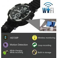 Wholesale Y33 8GB 720P WIFI IP Spy Watch Camera Home Security Smart Remote CCTV Video Monitor IR Night Vision Nanny Baby Monitor from china suppliers