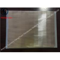 Buy cheap Stainless Steel Wedge Wire Screens Panel ,Automatic Bar Screens from wholesalers