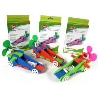 Wholesale Free shipping 10pcs a lot F1 air powered cars, EVA speed buggy, school art textbooks, educational toys from china suppliers