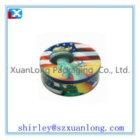 Wholesale large round metal tin box for candy www.xuanlongpackagingco.com from china suppliers