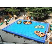 Wholesale Outdoor Children Inflatable Swimming Pool Large Rectangle Blow Up Swimming Pools from china suppliers