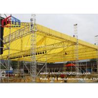 Wholesale LED Screen Aluminum Stage Truss , Portable Stage Lighting Truss 15 X 25m Size from china suppliers