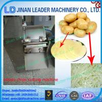Buy cheap Easy operation potato chips cutting machine multipurpose electric from wholesalers