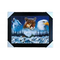 Wholesale PS Frame Stock  3D PET Lenticular Printing Services Wall Decorative Picture from china suppliers