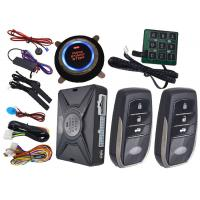 Wholesale Motion Sensor Car Alarm Smart Car Alarm System With Auto Central Lock Or Unlock from china suppliers