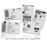 Wholesale Anti Counterfeit Logistic Labels , Adhesive Thermal Label Sticker from china suppliers