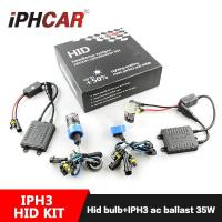 Wholesale IPHCAR Factory  Price OEM HID kit for  h1 h3 h4 h7 9005 9006 35W Xenon lens with Hid Bulb from china suppliers
