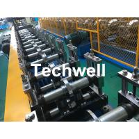 Wholesale Galvanized Steel Profile Roller Shutter Door Guide Rail Cold Roll Forming Machine from china suppliers