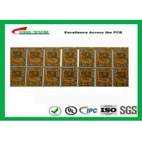 Wholesale Yellow Multilayer PCB 4 Layer Bluetooth Printed Circuit Board With BGA And Half Holes from china suppliers