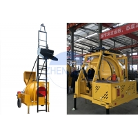 Wholesale Commercial Transit JZR350T Diesel Concrete Mixer Machine Stable Performance Durable Diesel Powered Concrete Mixer from china suppliers