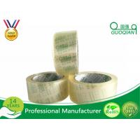 Quality Fantastic Crystal Clear Tape Water Based Acrylic BOPP Tape With Box Packing for sale