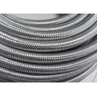 Outer Stainless Steel Braided Compressed Air Hose Pure Rubber Tube Inside