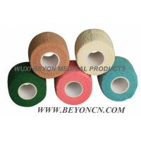 Wholesale Colored Cohesive Cotton Elasticated Bandage Breathable For Medical Surgical Wrapping from china suppliers