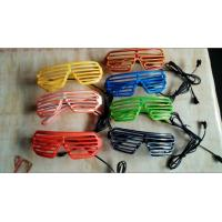 Wholesale  Shutter Shade El Wire Glasses  from china suppliers