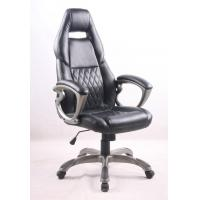 Wholesale Black PU Porsche Racing Office Chair with Painting Armrest Executive Leather Office Chair from china suppliers