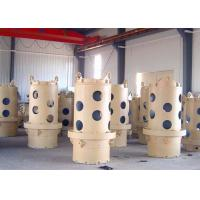 Buy cheap Double Wall Casing Pipe,Yellow and white tools,it's used for stabilising from wholesalers