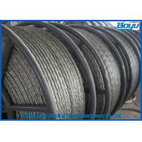 Wholesale Anti Twisted Steel Pilot Wire Rope Six Squares 12 Strands Transmission Line Stringing from china suppliers