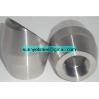 Buy cheap duplex stainless uns s31803 weldolet sockolet threadolet flangeolet elbowlet from wholesalers