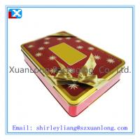 Wholesale biscuit tin box with colorful printing from china suppliers