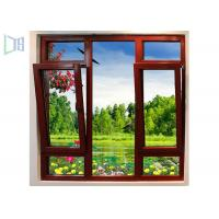 China Heat Insulated Aluminium Tilt And Turn Windows For Residential / Appartment for sale