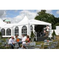 Wholesale Transparent Soft Window Combined Shape Aluminum Framed Outdoor Party Tent from china suppliers