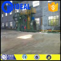 heavy duty eco-friendly shot blasting machine with three stage filter