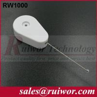Wholesale Retractable Tether Security Device For Security Solutions , Retractable Security Wire  from china suppliers