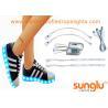 Different colors LED Shoe Light , Sole Footwear Decoration , LED Flashing Shoes for sale