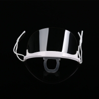 Wholesale Fog Proof Ergonomic ABS PET Transparent Mouth Cover from china suppliers