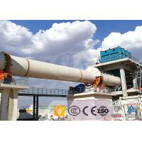 Quality Large Capacity Cement Production Line Indirect Heating High Thermal Efficiency for sale