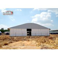 Wholesale Tear Resistant 20 x 50m Outdoor Party Tents Arcum Shape With Glass Walls from china suppliers