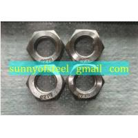 Wholesale incoloy 25-6mo fastener bolt nut washer gasket screw from china suppliers