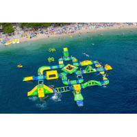 Wholesale Customized Big Inflatable Water Park ,  Large Aque Park , Wibit Sport 95 Part For Adult from china suppliers