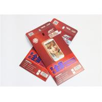 Wholesale Red Electronics Packaging Boxes With Hanger , Phone Tempered Glass Packing Box from china suppliers