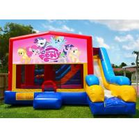 Wholesale Multifunction Inflatable Bouncer , Inflatable Cartoon Bouncy Castles For Outdoor Playing from china suppliers
