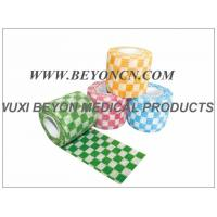 Wholesale Cohesive Elastic Bandage Elastic Cartoon Check Printed Wrap for Vet Pet from china suppliers