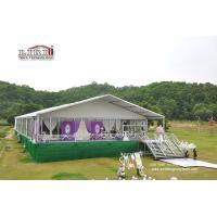 Wholesale 500 People Luxury Wedding Tents with Roof Lining and Curtains for Weddings and Parties from china suppliers